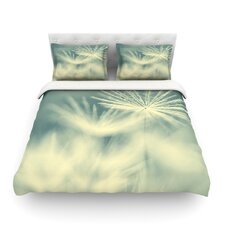 Snowflake by Ingrid Beddoes Light Cotton Duvet Cover