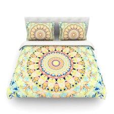 Flourish by Iris Lehnhardt Circle Light Cotton Duvet Cover