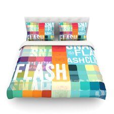 Flash Light Cotton Duvet Cover
