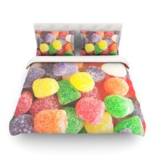 I Want Gum Drops by Libertad Leal Light Cotton Duvet Cover