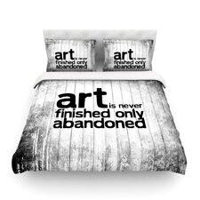 Art Never Finished Light Cotton Duvet Cover