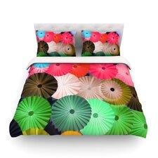 Parasol by Heidi Jennings Paper Circle Light Cotton Duvet Cover