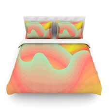 Way of the Waves by Akwaflorell Light Cotton Duvet Cover
