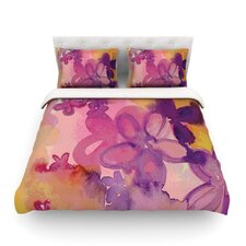 Dissolved Flowers by Louise Machado Light Cotton Duvet Cover