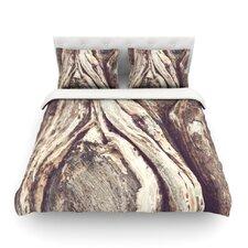 Bark by Catherine McDonald Light Cotton Duvet Cover