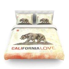 Cali Love by iRuz33 Light Cotton Duvet Cover
