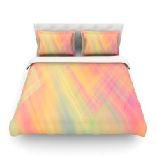 Abstract by Ingrid Beddoes Light Cotton Duvet Cover