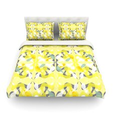 Spring Flourish Light by Miranda Mol Cotton Duvet Cover