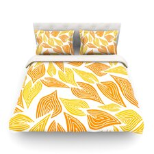Autumn by Pom Graphic Design Cotton Duvet Cover