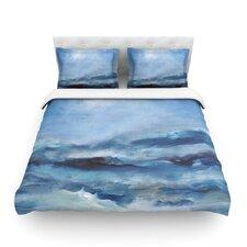 Rough Sea by Iris Lehnhardt Light Cotton Duvet Cover