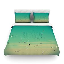Blessed by Robin Dickinson Birds Cotton Duvet Cover