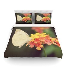 Captivating by Robin Dickinson Flower Cotton Duvet Cover