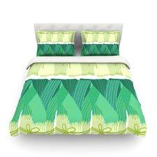 Leeks by Laura Nicholson Light Cotton Duvet Cover