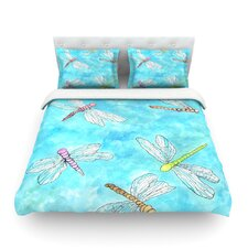 Dragonfly by Rosie Brown Cotton Duvet Cover