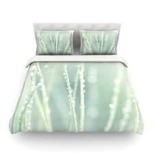 Blue Ice by Ingrid Beddoes Light Cotton Duvet Cover