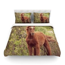 Confuscous by Robin Dickinson Cotton Duvet Cover