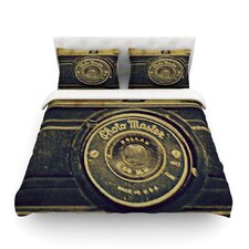Discarded Treasure by Robin Dickinson Vintage Camera Cotton Duvet Cover