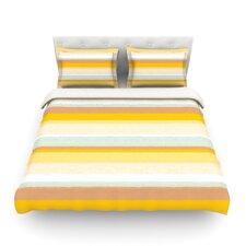 Desert Stripes by Nika Martinez Light Cotton Duvet Cover