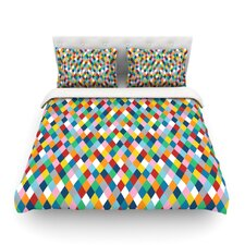 Abstraction by Project M Woven Duvet Cover