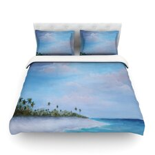 Carefree Carribean by Rosie Brown Cotton Duvet Cover