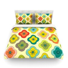 Forest Bloom by Nicole Ketchum Cotton Duvet Cover