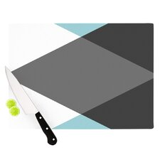 Diamonds by Suzanne Carter Cutting Board
