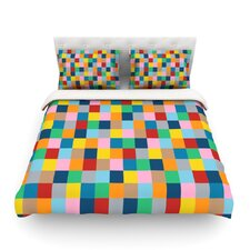 Colour Blocks Zoom by Project M Woven Duvet Cover
