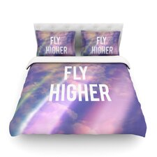 Fly Higher by Rachel Burbee Cotton Duvet Cover