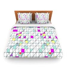 Squares by Michelle Drew Fleece Duvet Cover