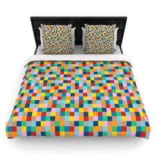 Colour Blocks by Project M Woven Duvet Cover