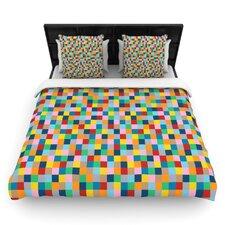 Colour Blocks by Project M Woven Duvet Cover