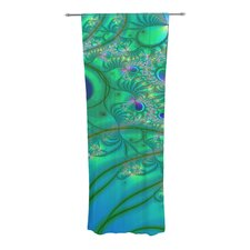 Fractal Curtain Panels (Set of 2)