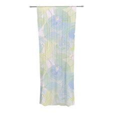 Paper Flower Curtain Panels (Set of 2)