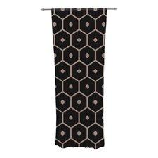 Tiled Mono Curtain Panels (Set of 2)