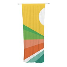 Beach Curtain Panels (Set of 2)