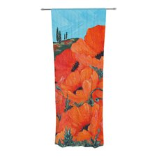 Poppies Curtain Panels (Set of 2)