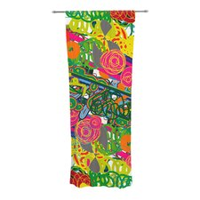 Psychedelic Garden Curtain Panels (Set of 2)