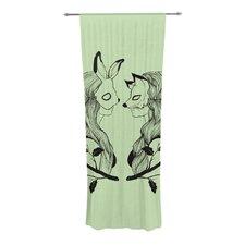 Foxy Buns Curtain Panels (Set of 2)