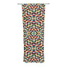 Retro Grade Curtain Panels (Set of 2)