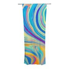 Rainbow Swirl Curtain Panels (Set of 2)