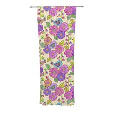 My Birds and My Flowers Curtain Panels (Set of 2)