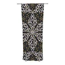 Ethnical Snowflakes Curtain Panels (Set of 2)