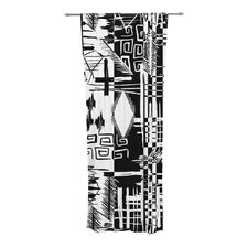 Tropical Buzz Curtain Panels (Set of 2)