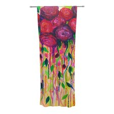 Roses are Red Curtain Panels (Set of 2)