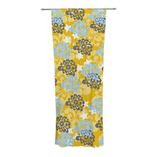 Flowers Curtain Panels (Set of 2)