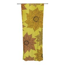 It's Raining Flowers Curtain Panels (Set of 2)