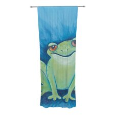 Ribbit Ribbit Curtain Panels (Set of 2)