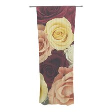 Vintage Roses Curtain Panels (Set of 2)