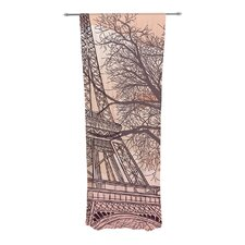 Eiffel Tower Curtain Panels (Set of 2)