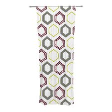 Hexy Small Curtain Panels (Set of 2)